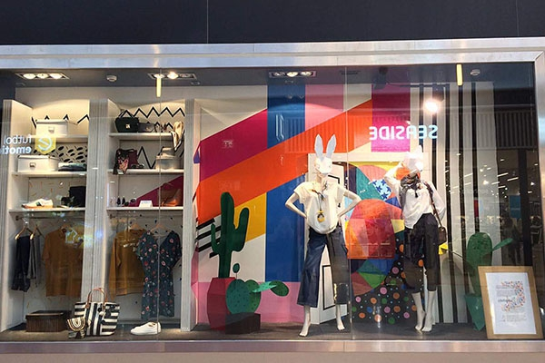 Formandos de Visual Merchandising do Citeforma Criam Montras em Centro Comercial